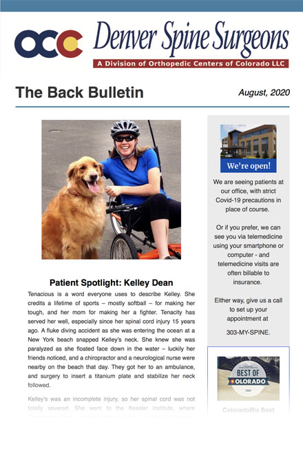 The Back Bulletin - August 2020