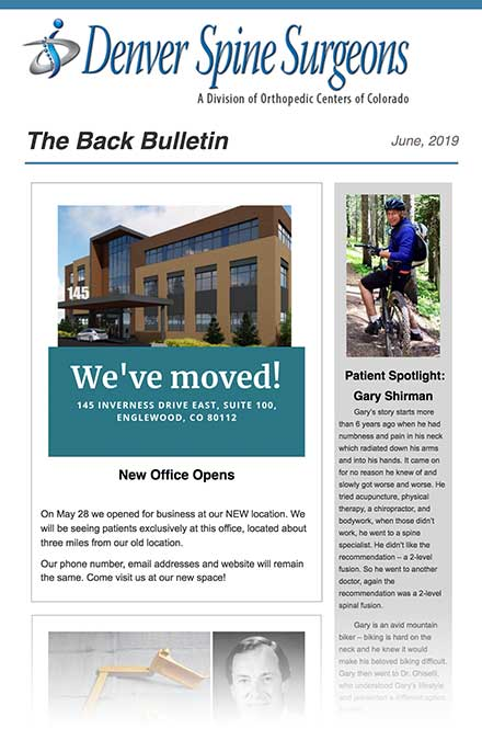 The Back Bulletin - March 2019