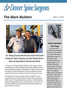 The Back Bulletin - March 2018
